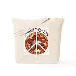 Peace-za Tote Bag
