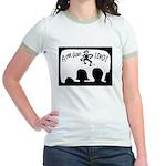 AMERICAN IDIOT (not IDOL!) Jr. Ringer T-Shirt