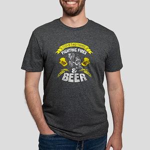 Fighting Fires T Shirt, Beer T Shirt T-Shirt