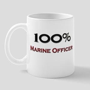 100 Percent Marine Officer Mug