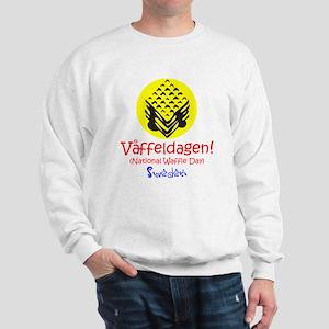 Swedish National Waffle Day Sweatshirt