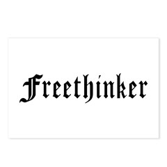 Freethinker Postcards (Package of 8)
