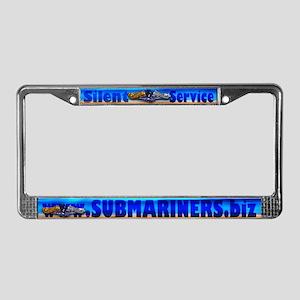 Submariners.Biz License Plate Frame