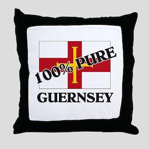 100 Percent GUERNSEY Throw Pillow