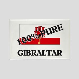100 Percent GIBRALTAR Rectangle Magnet