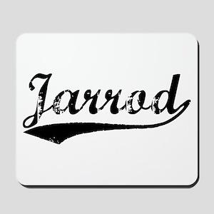Vintage Jarrod (Black) Mousepad