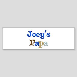 Joey's Papa Bumper Sticker
