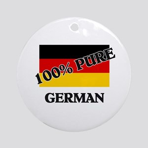 100 Percent GERMAN Ornament (Round)