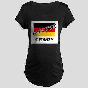 100 Percent GERMAN Maternity Dark T-Shirt