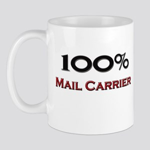 100 Percent Mail Carrier Mug