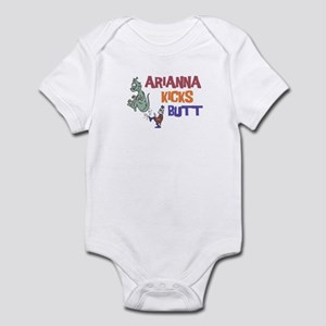 Arianna Kicks Butt Infant Bodysuit