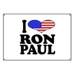I Love Ron Paul Banner