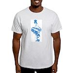 Dholi Ash Grey T-Shirt