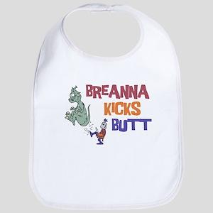 Breanna Kicks Butt Bib
