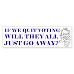 The Savage Files bumper sticker
