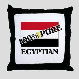 100 Percent EGYPTIAN Throw Pillow