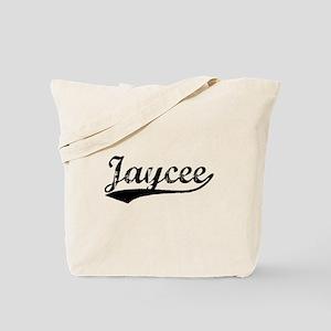 Vintage Jaycee (Black) Tote Bag