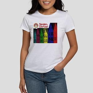 Bergen, Norway (Color) Women's T-Shirt