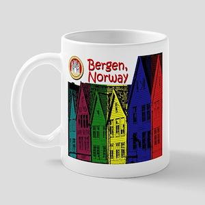 Bergen, Norway (Color) Mug