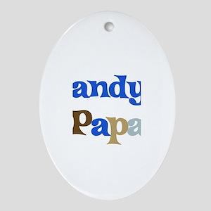 Randy's Papa Oval Ornament