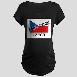 100 Percent CZECH Maternity Dark T-Shirt