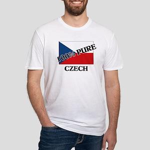 100 Percent CZECH Fitted T-Shirt