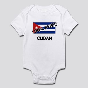 100 Percent CUBAN Infant Bodysuit