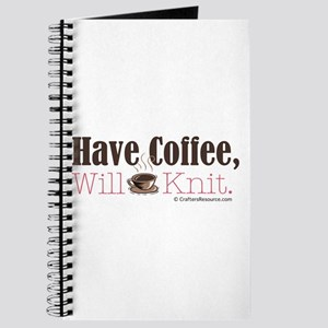 Have Coffee, Will Knit Journal