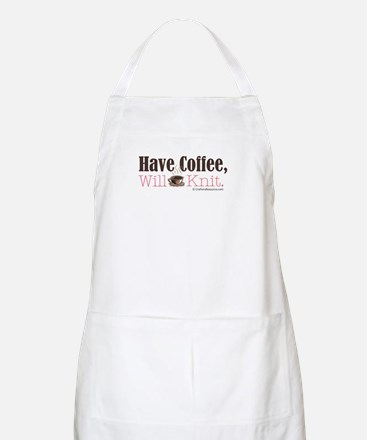 Have Coffee, Will Knit BBQ Apron