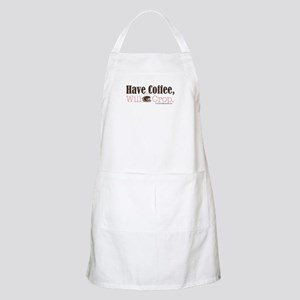Have Coffee, Will Crop BBQ Apron