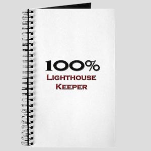 100 Percent Lighthouse Keeper Journal