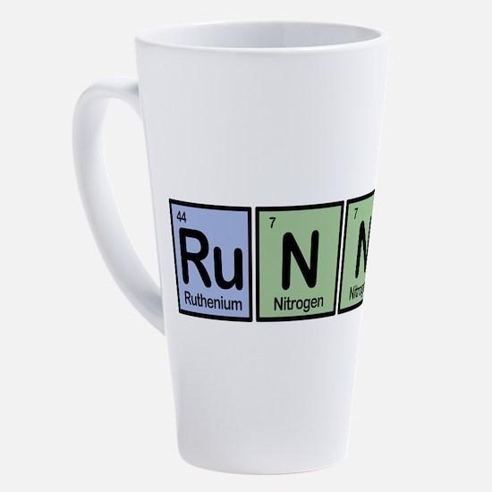 Unique Run 17 oz Latte Mug