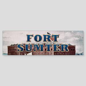 ABH Fort Sumter Sticker (Bumper)