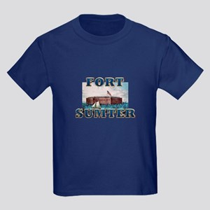 ABH Fort Sumter Kids Dark T-Shirt