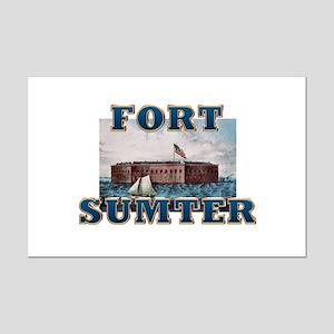 ABH Fort Sumter Mini Poster Print