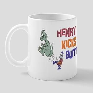 Henry Kicks Butt Mug