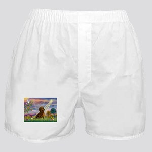 Cloud Angel & Dachshund Boxer Shorts