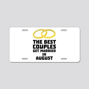 The Best Couples in AUGUST Aluminum License Plate