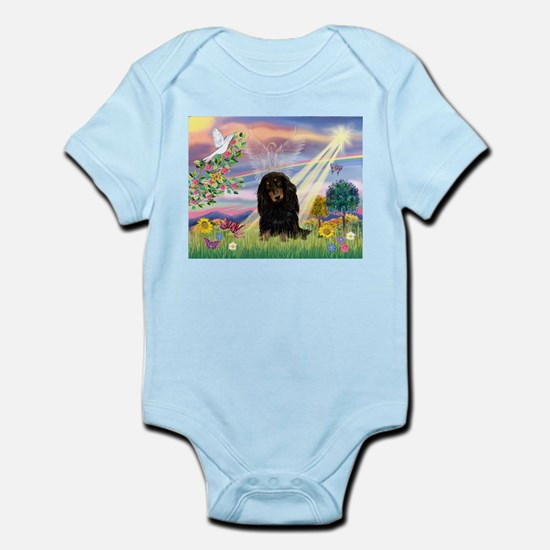 Cloud Angel Doxie (Black LH) Infant Bodysuit