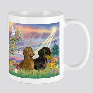Cloud Angel Doxies Mug
