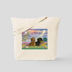Cloud Angel Doxies Tote Bag