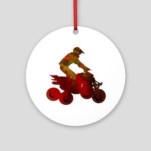 RIDE Round Ornament