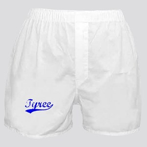 Vintage Tyree (Blue) Boxer Shorts