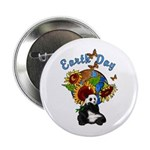 """Earth Day Planet 2.25"""" Button"""