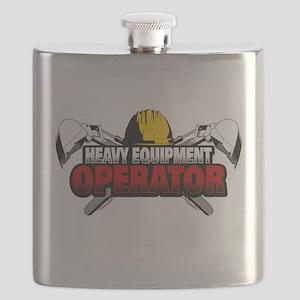 Heavy Equipment Operator Flask