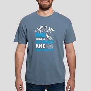 I Hold My Rod Wiggle T shirt, Fishing T sh T-Shirt