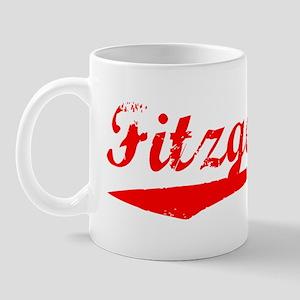 Vintage Fitzgerald (Red) Mug