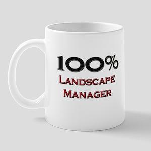 100 Percent Landscape Manager Mug