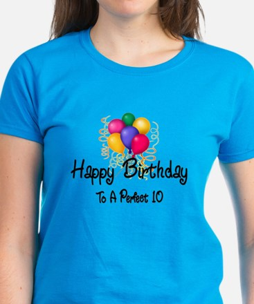 Happy Birthday Women's Dark T-Shirt