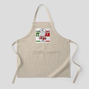 World's Greatest Italian Wife BBQ Apron